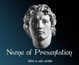 Alexander the Great Free PowerPoint Template