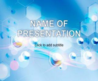 Molecule Free PowerPoint Template
