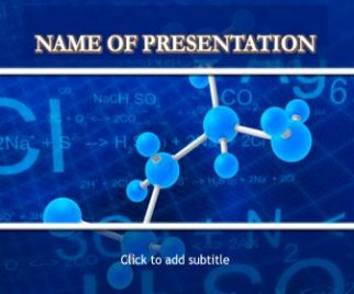 medicinal chemistry free powerpoint template for