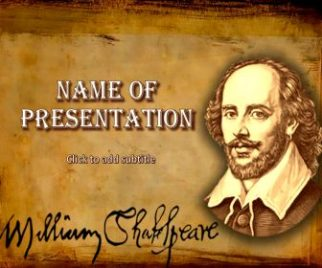 William shakespeare powerpoint template free download william shakespeare powerpoint template william shakespeare free powerpoint template toneelgroepblik Gallery