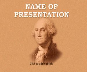 George Washington Free PowerPoint Template