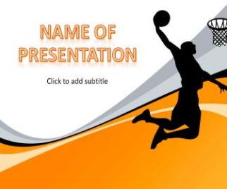 Basketball Free PowerPoint Template