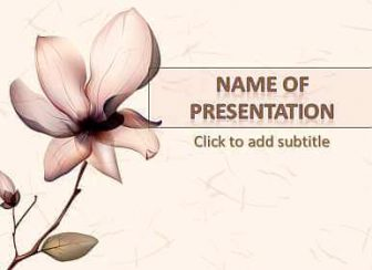 Orchid Free PowerPoint Template