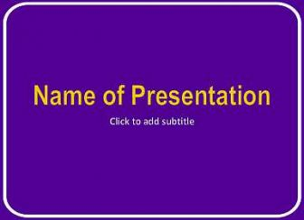 Purple background Free PowerPoint Template