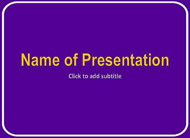 Template with a purple background and white frame purple background free powerpoint template toneelgroepblik Choice Image