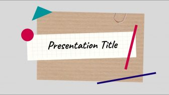Geometric Shapes Free PowerPoint Template