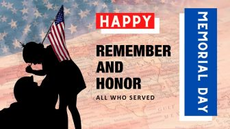Happy Memorial Day Free PowerPoint Template