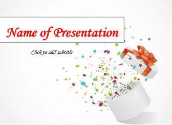 Gift Free PowerPoint Template