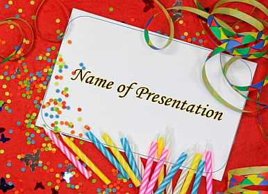 Greeting Card Birthday Free Powerpoint Template