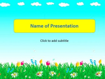 Summer Free PowerPoint Template