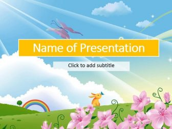 Fairy-tale Free PowerPoint Template