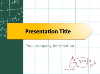 Math powerpoint templates free