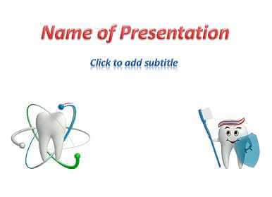 Healthy teeth Free PowerPoint Template