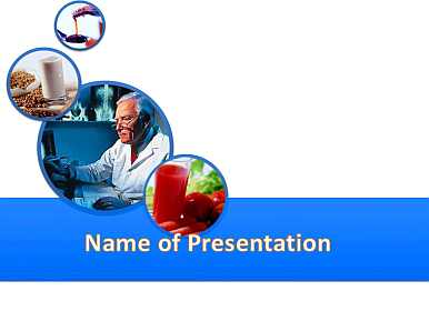 Healthy food Free PowerPoint Template
