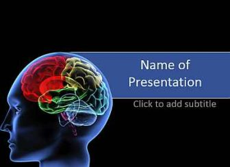 Neurology and brain Free PowerPoint Template