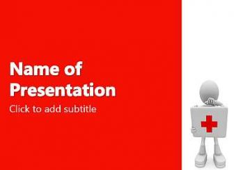 First Aid Free PowerPoint Template