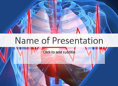 Cardiac performance Free PowerPoint Template