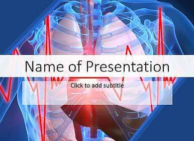 Cardiac Performance Medical Template For Presentation