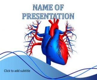 Human Heart Free PowerPoint Template