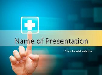 Medical Solutions Free PowerPoint Template