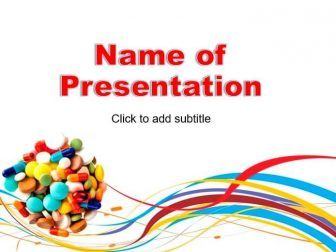 Pills, Pharmacy Free PowerPoint Template