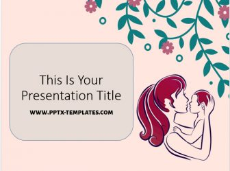 Mother's Day Free PowerPoint Template