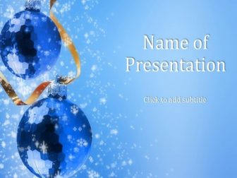 Festive reasons Free PowerPoint Template
