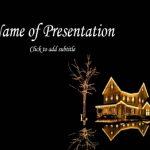 Fairy-tale new-year house