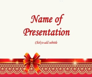 new year free powerpoint template