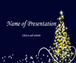 New year 2019 Free PowerPoint Template