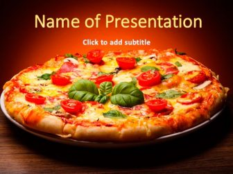 Free Pizza Powerpoint Template For Presentations