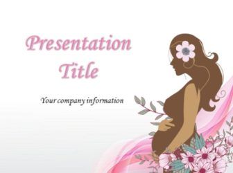 Pregnant Free PowerPoint Template