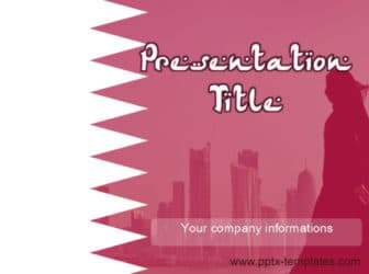 Qatar PowerPoint Template