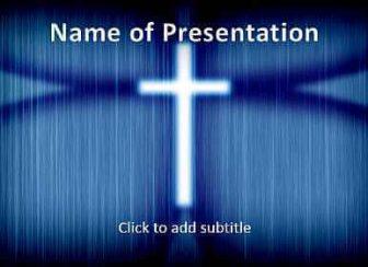 Cross Free PowerPoint Template