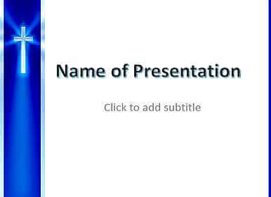 Cross Free PowerPoint Template
