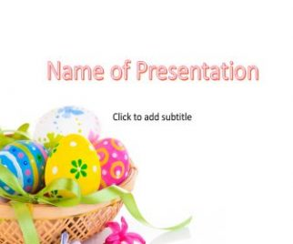 Easter eggs Free PowerPoint Template