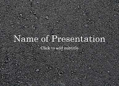 Asphalt Free PowerPoint Template