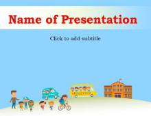 School Safety Free PowerPoint Template