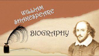 William Shakespeare Free PowerPoint Template